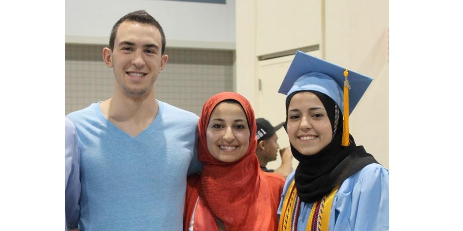 Deah, Yusor und Razan